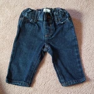 Children's Place baby boy size 6-9 month jeans